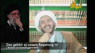 Debatte mit Ahad Rostami über Islamische Regierung in Zeit von Verborgenheit