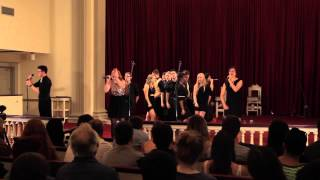 ICCA Set (Rolling in the Deep, Skinny Love, Hercules, Figure 8) - UMD Faux Paz - May 2014