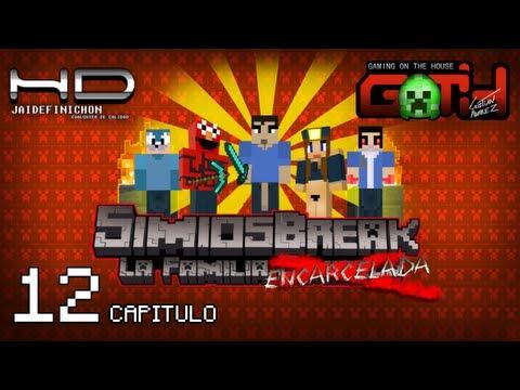 SimiosCraft #12 Simios Break especial Minecraft en Español GOTH