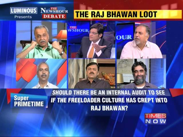 The Newshour Debate: The Raj Bhawan Loot - Part 2 (30th July 2014)