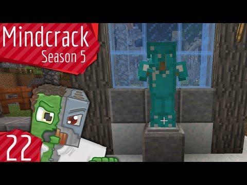 """Good News Everyone!"" & Armor Stand Switcher - Mindcrack Server Season 5 - E"
