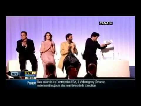 Empty seat for Iranian director Jafar Panahi at Cannes Film Festival - France 2010