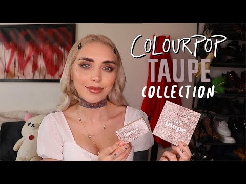 COLOURPOP TAUPE COLLECTION | REVIEW + SWATCHES + COMPARISONS | DUPETHAT ITSKANDL