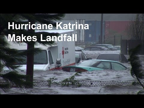 All hell breaks loose as Hurricane Katrina makes landfall
