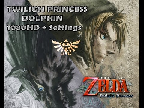 [Gc] The Legend of Zelda: Twilight Princess on Dolphin Gameplay Full Speed High Settings (HD 1080p)