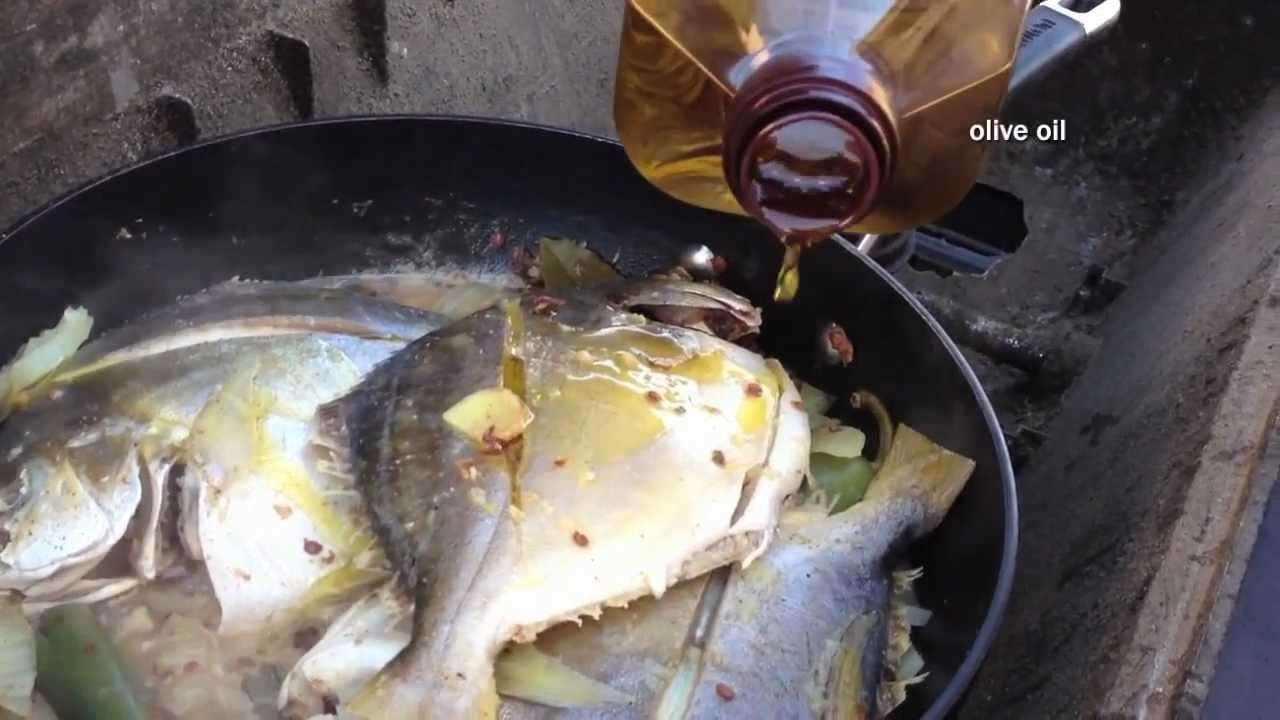 Filipino pompano dish youtube for Pompano fish recipe