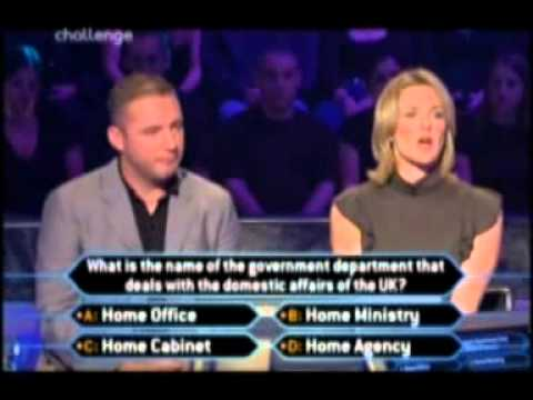 Who Wants To Be A Millionaire? Celebrity 2002 Gabby Logan Ally Mccoist