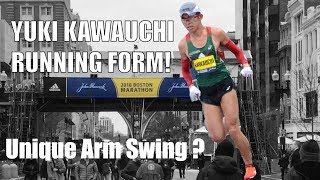 YUKI KAWAUCHI ARM SWING: 2018 BOSTON MARATHON CHAMPION!  | Sage Running Form Technique Analysis