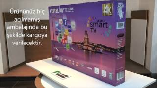 Vestel 4K Smart 40UA8900 102 Ekran Led Tv (40 inç) - EkoBeyazEşya
