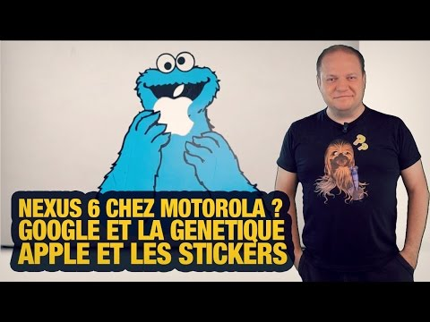 #freshnews 701 Nexus 6 Motorola. Google Baseline. Apple et les stickers klip izle
