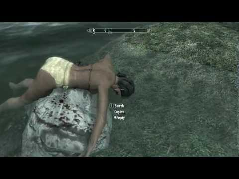 Skyrim Strange Scene video