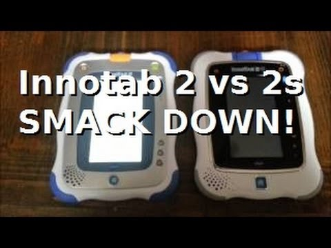Innotab 2 vs Innotab 2s Comparison
