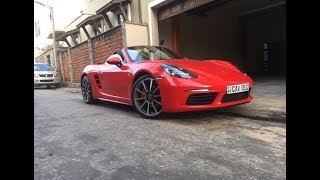 2017 Porsche 718 Boxster Startup And Review