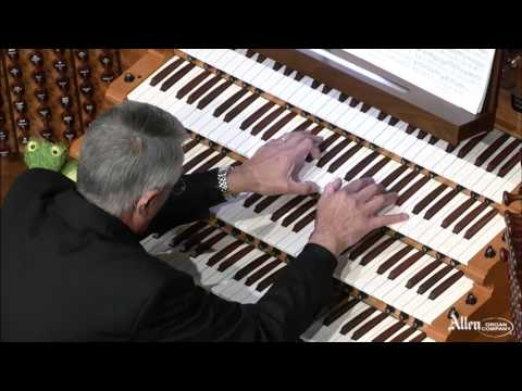 'Passacaglia and Fugue in C minor' performed by Maestro Hector Olivera