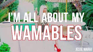 Nicki Minaj - Wamables (Lyrics Video)