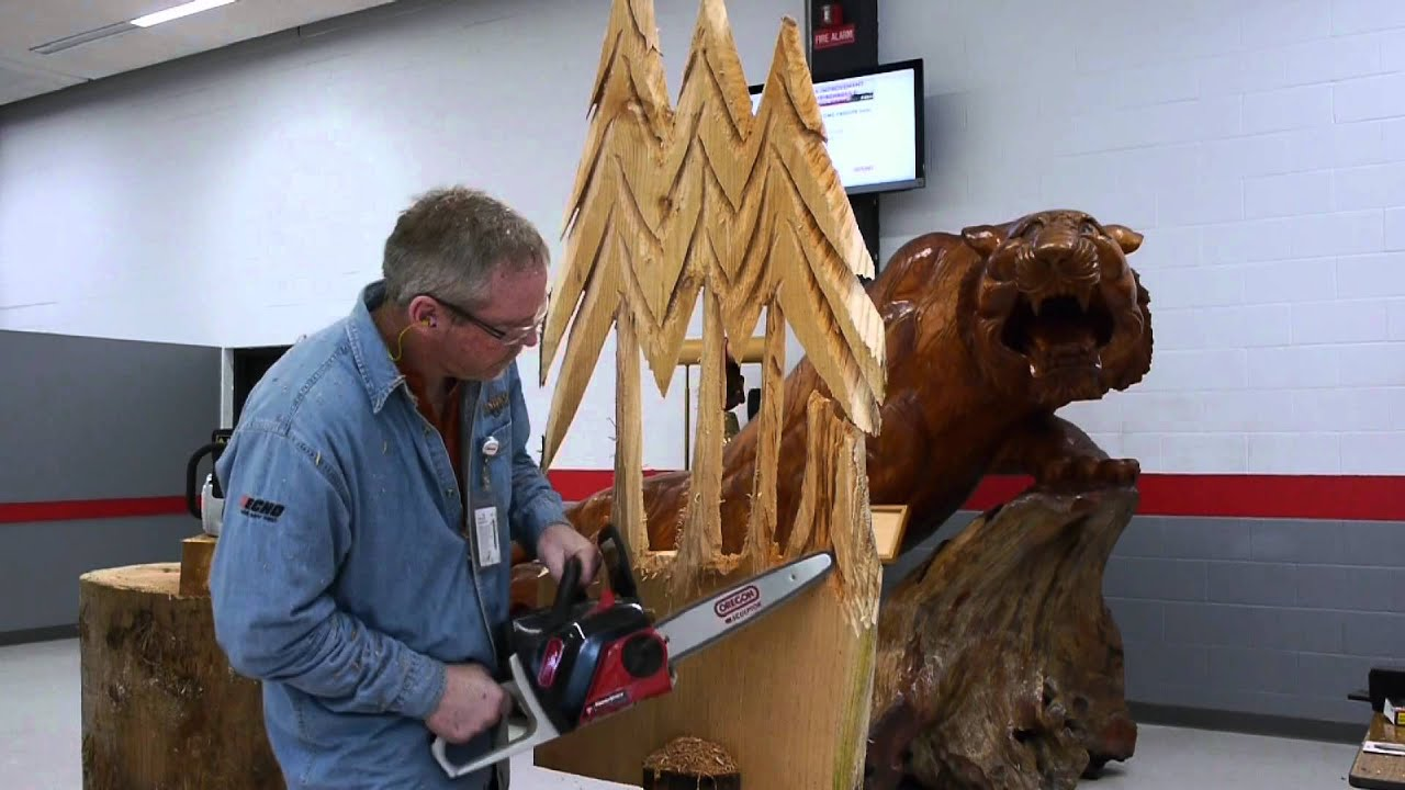 Bob king sculpting demonstration oregon powernow v max