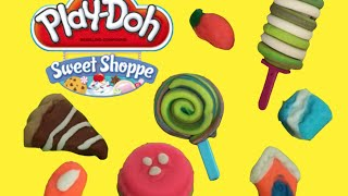 Play Doh Ice Cream Sweets Pies Lollies - Playdough Sweet Shoppe