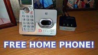 Free Home Phone (OBi200 Setup)