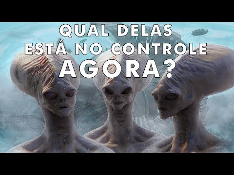 5 raças alienígenas que estão brigando pelo controle da Terra