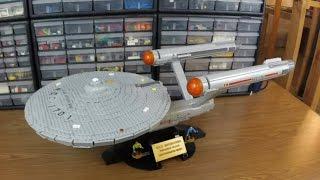 Time Lapse Build of USS Enterprise NCC-1701