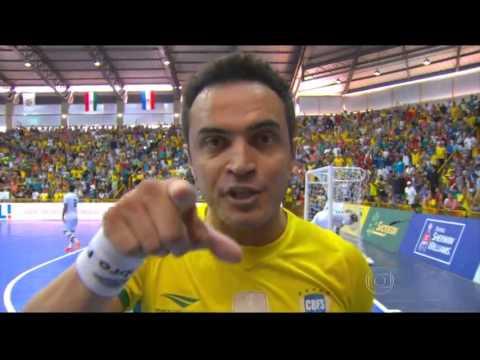 Futsal(FINAL) Brasil 4 x 3 Irã CAMPEÃO Grand Prix Futsal 2015