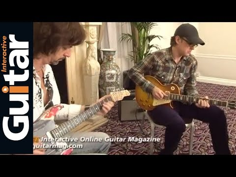 Joe Bonamassa Guitar Jam With Michael Casswell Guitar Interactive Magazine Issue 4