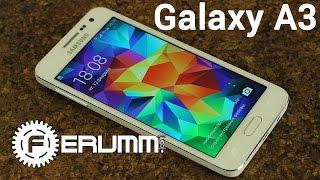 Samsung Galaxy A3 подробный обзор. Все особенности смартфона Galaxy A3 от FERUMM.COM