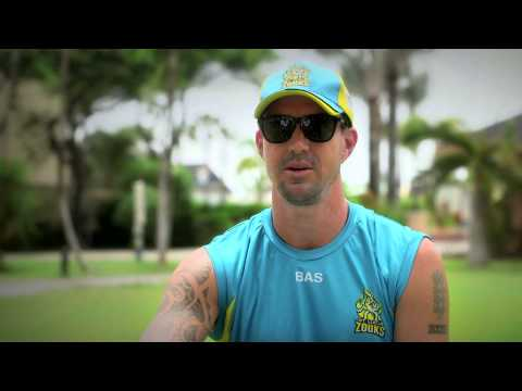 Kevin Pietersen At CPL 2014