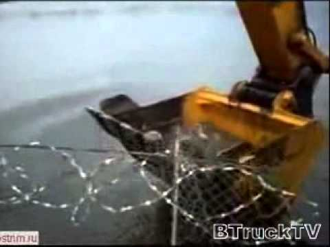 рыбалка экскаватором