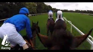 Helmet Cam | Richard Hughes at Ascot | Channel 4 Racing