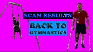 SCAN RESULTS- Back in the Gym training!