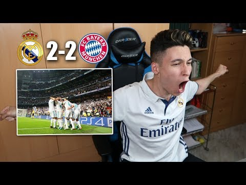 REACCIONES DE UN HINCHA Real Madrid vs Bayern Munich 2-2 SEMIFINAL CHAMPIONS LEAGUE [ByDiegoX10] thumbnail