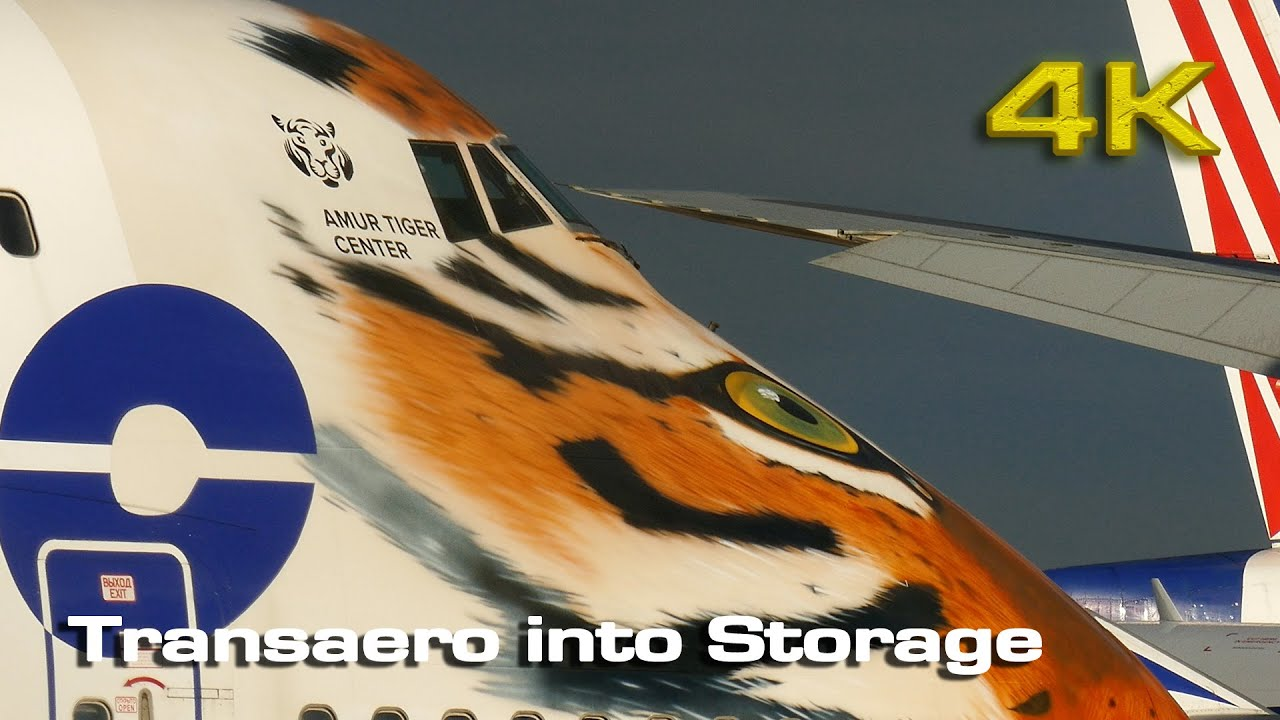 Transaero fleet into Storage