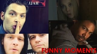 Best Funny Moments | Behind the Scenes | The Originals Season 3 | Joseph Morgan, Daniel Gillies..