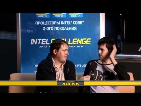 Intel Challenge IX: SuperCup по DotA. Интервью с Хвостом