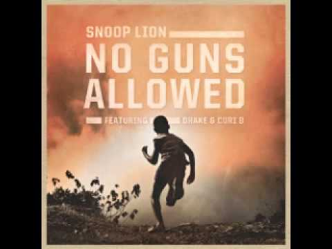 Snoop Lion - No Guns Allowed (feat. Drake & Cori B)(Reincarnated)