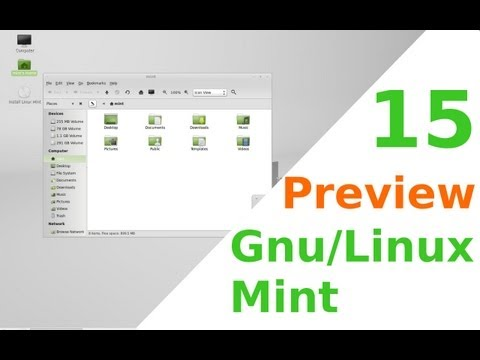 Preview Gnu/Linux Mint 15 Olivia |En Español| con cinnamon |Mi opinion personal|