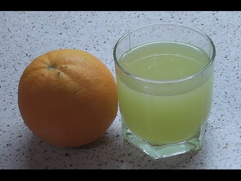 Апельсиновый лимонад - лимонад из корок апельсина