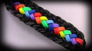 How to make a beautiful bracelet Loom band