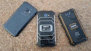 Hammer Energy vs MaxCom MS457 Strong vs Samsung Galaxy xCover 4 - który jest twardszy? (Porównanie)