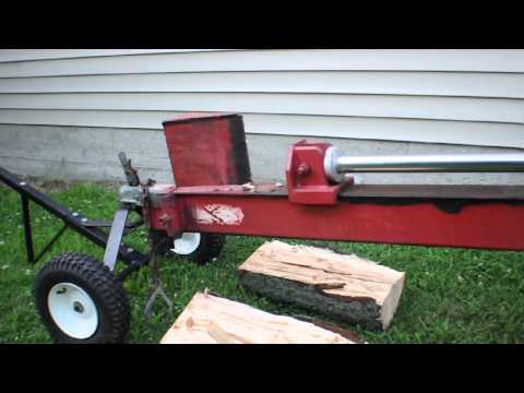 30 Ton Log Splitter w: 8 0 HP Honda Engine