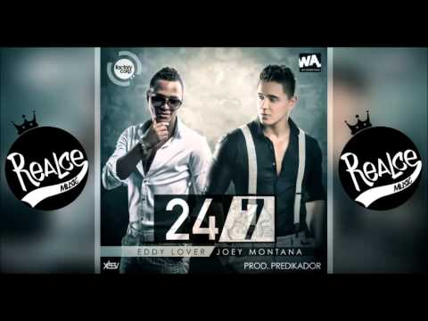 24 7 Eddy Lover Ft Joey Montana Original ►NEW ® Reggaeton Romantico 2014◄ Exito © 2014