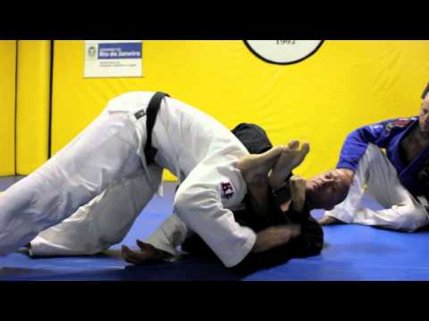Nova Geracao, Carlson Gracie Jiu-Jitsu - warm-up ideas and hard sparring! RRS Ep6.2