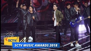 Anak Langit All Stars - 100% Rock n Roll | SCTV Music Awards 2018