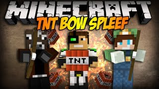 Minecraft Mini-Game: Wszyscy na Deltiego! - TNT Bow Spleef w/ MultiGameplayGuy, iDelti