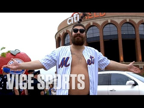 The Fat Jew Takes On Mets Fans at Citi Field