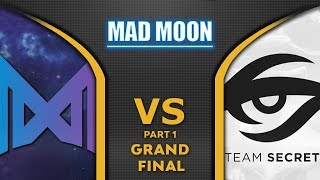 Nigma vs Secret Grand Final WePlay! Mad Moon 2020 Highlights Dota 2 - [Part 1]