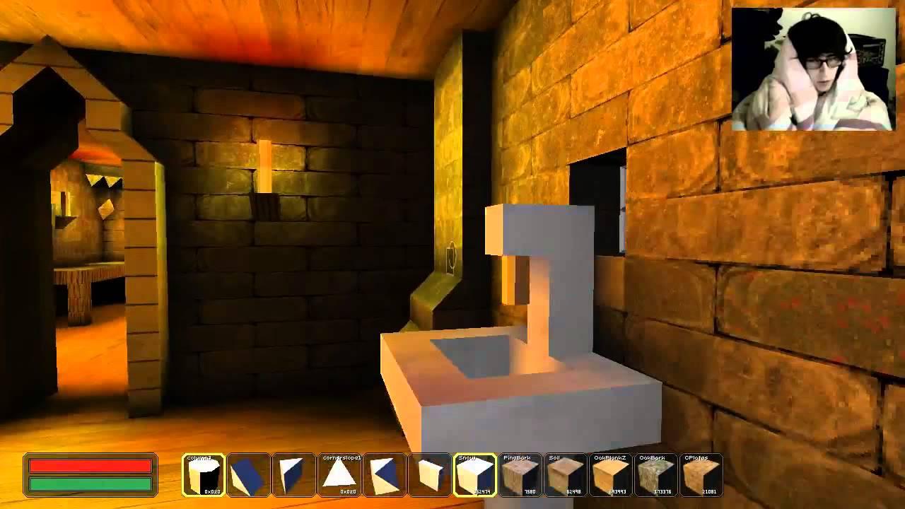 blockscape et la construction d 39 un village m di val en couette youtube