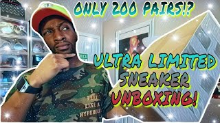 ONLY 200 PAIRS? UNBOXING SUPER LIMITED SNEAKERS
