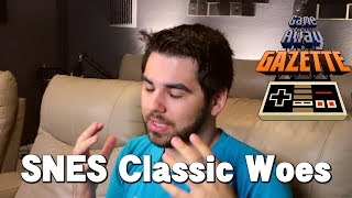 SNES Classic Edition Stock Woes! - Game Away Gazette Pilot